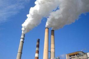 The Polluted Carbon Emission Rushed Out Of Industries.