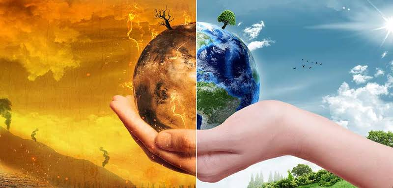 Image Representing The Concept Of Environment & Climatic Change.