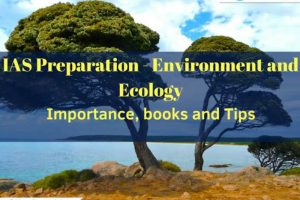 An Image Representing - Environment & Ecology Syllabus IN UPSC - IAS Preparation.